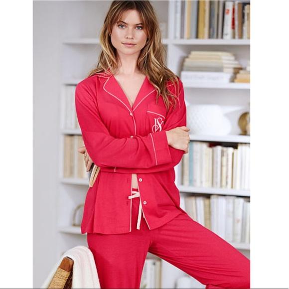 0b83914ab3 Victoria s Secret The Sleepover Knit Pajama Set. M 5ad7d4048df4700014de5146